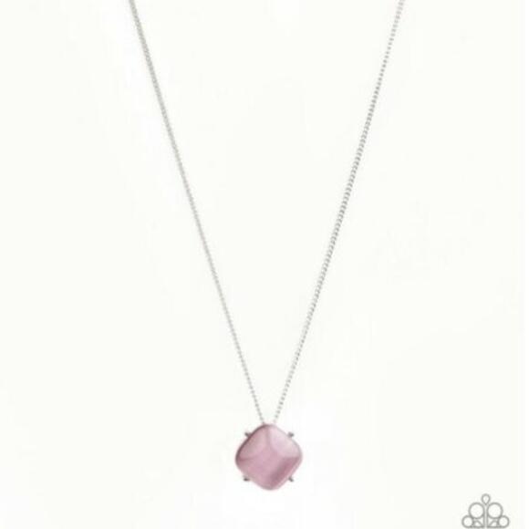 Paparazzi Jewelry - You Glow Girl Pink Necklace & Earrings Set